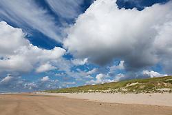 North Sea beach, Castricum, Bakkum aan Zee, Noord Holland, Netherlands