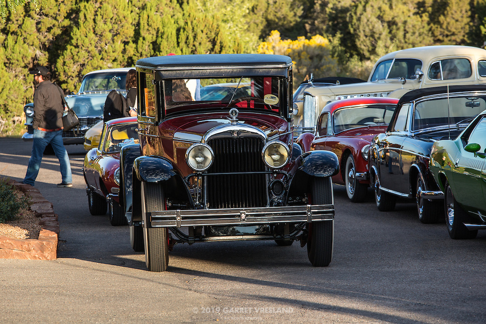 Age before beauty? Some would argue the point! On the 2012 Santa Fe Concorso High Mountain Tour.