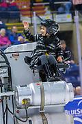 KELOWNA, CANADA - FEBRUARY 08: Orchard Park Zamboni Rider at the Kelowna Rockets game on February 08, 2019 at Prospera Place in Kelowna, British Columbia, Canada. (Photo By Cindy Rogers/Nyasa Photography, *** Local Caption ***