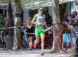 07.07.2019, Klagenfurt, AUT, Ironman Austria, Laufen, im Bild Daniel Bækkegard (DAN) // Daniel Bækkegard (DAN) during the run competition of the Ironman Austria in Klagenfurt, Austria on 2019/07/07. EXPA Pictures © 2019, PhotoCredit: EXPA/ Johann Groder