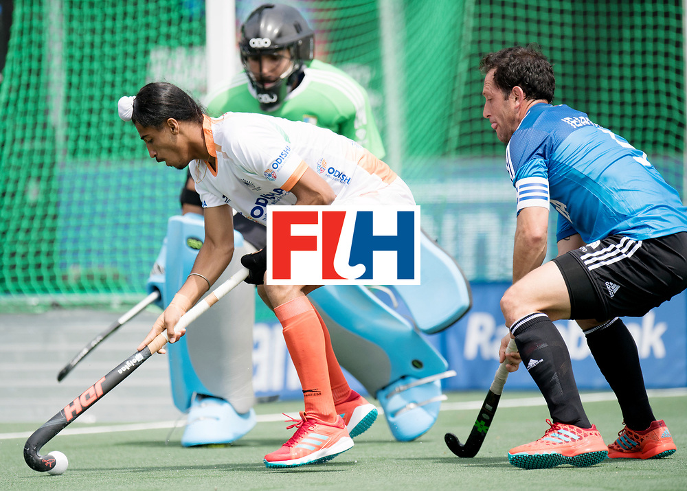 BREDA - Rabobank Hockey Champions Trophy<br /> India - Argentina<br /> Photo: SINGH Dilpreet.<br /> COPYRIGHT WORLDSPORTPICS FRANK UIJLENBROEK