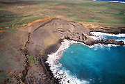 Green Sand Beach, South Point, Island of Hawaii, Hawaii