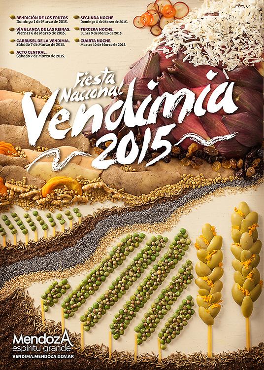 Proposal Fiesta Nacional Vendimia 2015 Mendoza Argentina