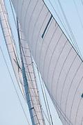 Spartan sailing in the Nantucket Opera House Cup regatta.