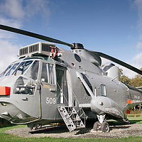 Sea King Helicopter Glamping Thornhill