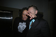 Jamie Morgan and Joe Corre. Future Punk Launch party at Selfridges, Oxford St. : 9th March. ONE TIME USE ONLY - DO NOT ARCHIVE  © Copyright Photograph by Dafydd Jones 66 Stockwell Park Rd. London SW9 0DA Tel 020 7733 0108 www.dafjones.com