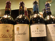 In every bar and restaurant in Logrono there were many wines from the Rioja region. Each bar or restaurant had its own speciality tapas to accompany their house wine.