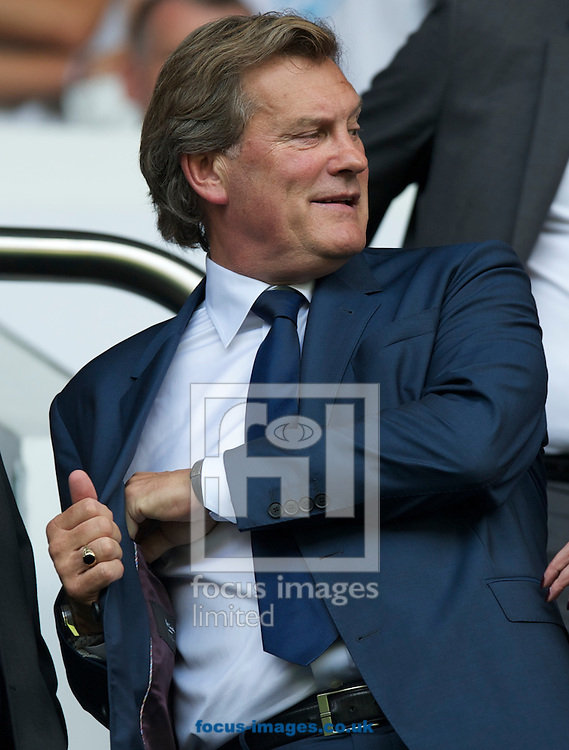 Picture by Alan Stanford/Focus Images Ltd +44 7915 056117<br />25/08/2013<br />Glen Hoddle formerly of Tottenham Hotspur during the Barclays Premier League match at White Hart Lane, London.