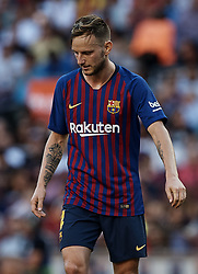September 29, 2018 - Barcelona, Barcelona, Spain - Ivan Rakitic of FC Barcelona looks down during the La Liga match between FC Barcelona and Athletic Club de Bilbao at Camp Nou on September 29, 2018 in Barcelona, Spain  (Credit Image: © David Aliaga/NurPhoto/ZUMA Press)