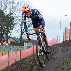 12-01-2020: Wielrennen: NK Veldrijden: Rucphen<br />Hugo Kars