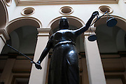 Belo Horizonte_MG, Brasil...Estatua da Justica do Tribunal de Justica de Minas Gerais...The Justice Statue of the Justice Court of Minas Gerais...Foto: LEO DRUMOND / NITRO