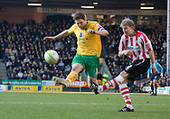 Saturday February 20th 2010: Norwich City play Southampton at the Canaries home ground Carrow road.(Pic by Rob Colman Focus Images)