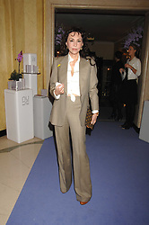 MARIE HELVIN at the 10th Anniversary Party of the Lavender Trust, Breast Cancer charity held at Claridge's, Brook Street, London on 1st May 2008.<br />