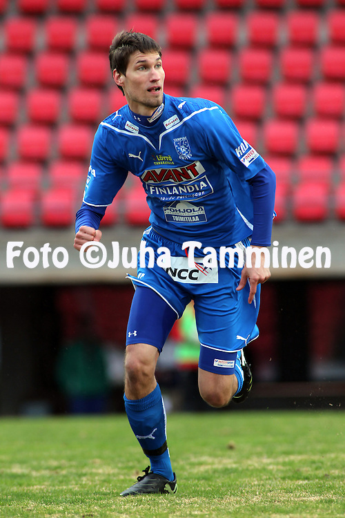 23.04.2010, Ratina, Tampere..Veikkausliiga 2010, Tampere United - JJK Jyv?skyl?..Henri Myntti - TamU.©Juha Tamminen.