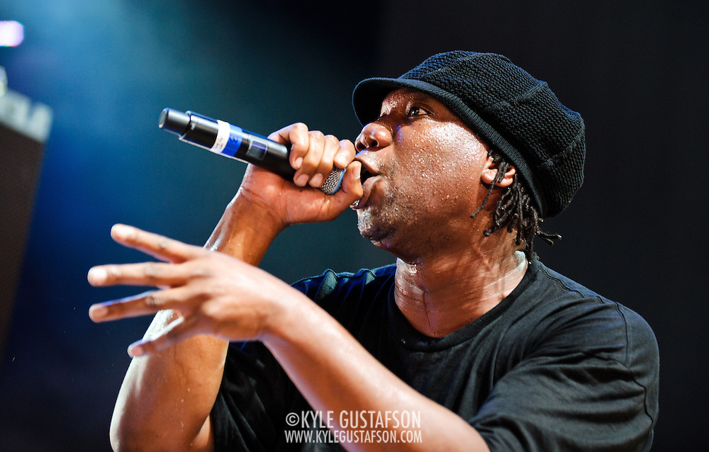 Columbia, MD - August 30th, 2010:  KRS-One performed hits from his   1987 debut album Crimnal Minded. (Photo by Kyle Gustafson/For The Washington Post)