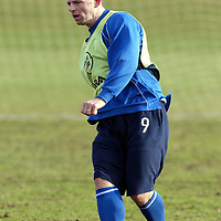 St Johnstone Training..05.03.02   <br />St Johnstone's Graeme Jones who is likely to start v Rangers after Keigan Parker's red card on Saturday means he will be suspended<br />see story by Gordon Bannerman Tel:01738 553978<br /><br />Picture by Graeme Hart.<br />Copyright Perthshire Picture Agency<br />Tel: 01738 623350  Mobile: 07990 594431