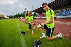 during training of NK Olimpija Ljubljana , on June 13, 2018 in Sports park Siska, Ljubljana, Ljubljana, Slovenia. Photo by Ziga Zupan / Sportida