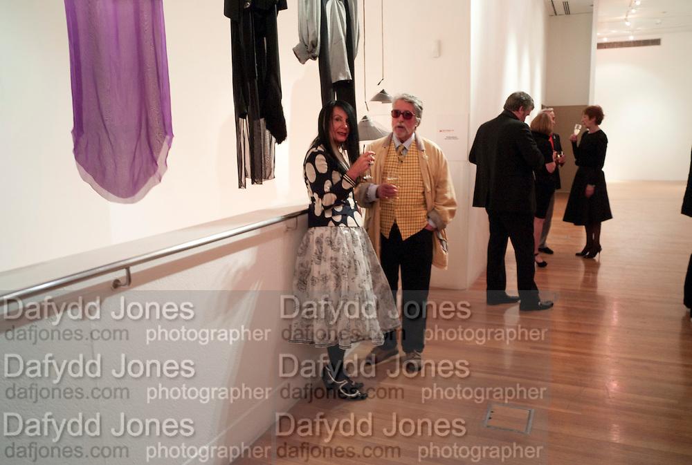SUE TIMNEY; JUSTIN DE VILLENEUVE, The Royal College of Art Fashion Gala. Kensington Gore. London. 11 June 2009.