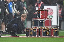 November 10, 2018 - London, London, United Kingdom - Prince Harry. England face the All Blacks at Twickenham Stadium during the Quilter Internationals 2018. (Credit Image: © Andrew Parsons/i-Images via ZUMA Press)