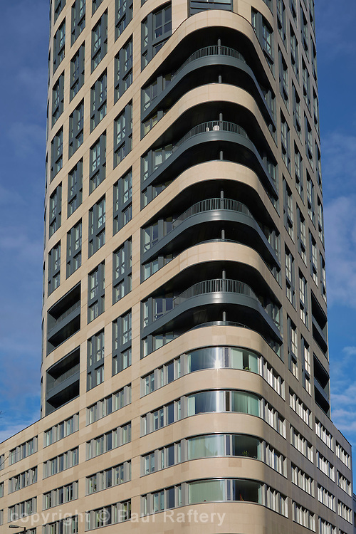 Eagle House apartments, London. Developer Mount Anvil, architects Terry Farrell