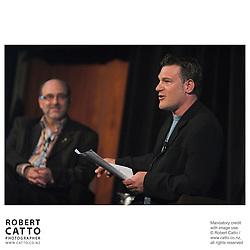 Brian Seth Hurst;David Rose at the Spada Conference 06 at the Hyatt Regency Hotel, Auckland, New Zealand.<br />