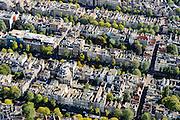 Nederland, Noord-Holland, Amsterdam, 27-09-2015; Binnenstad van Amsterdam, grachtengordel ten westen van Raadhuisstraat. Singel, Herengracht, Keizersgracht. De kruisende straatjes zijn Wolvenstraat, Berenstraat (links), Runstraat, Huidenstraat.<br /> Belt of Canals, Amsterdam City Centre.<br /> <br /> luchtfoto (toeslag op standard tarieven);<br /> aerial photo (additional fee required);<br /> copyright foto/photo Siebe Swart