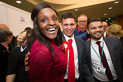 June 9, 2017 - Peterborough, Cambs, United Kingdom - Image ©Licensed to i-Images Picture Agency. 09/06/2017. Peterborough, United Kingdom. Labour Candidate Fiona Onasanya wins Peterborough Seat. Picture by Terry Harris / i-Images (Credit Image: © Terry Harris/i-Images via ZUMA Press)