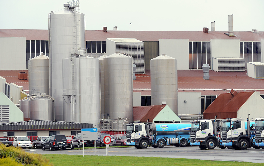 Fonterra Dairy Milk plant, Longburn, Palmerston North, New Zealand, Friday, August 12, 2011. Credit:SNPA / Ross Setford
