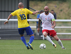 May 31, 2018 - London, United Kingdom - Onet  Serhan of Northern Cyprus .during Conifa Paddy Power World Football Cup 2018  Group B match between Northern Cyprus against Karpatalya at Queen Elizabeth II Stadium (Enfield Town FC), London, on 31 May 2018  (Credit Image: © Kieran Galvin/NurPhoto via ZUMA Press)