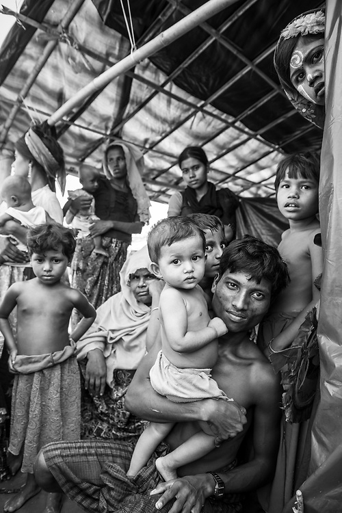 Jamtoli refugee camp, Bangladesh (October 26, 2017)