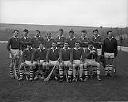 15/02/1970<br /> 02/15/1970<br /> 15 February 1970<br /> National Hurling League: Cork v Dublin at Croke Park, Dublin. <br /> The Cork team.