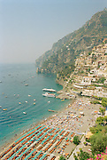 Located in the mountains of Campania, Italy, is the seaside town Amalfi.  This fishing port on the Gulf of Sorrento has become a popular resort destination, known for its beautiful scenery.