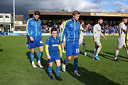 Mascot during the EFL Sky Bet League 1 match between AFC Wimbledon and Portsmouth at the Cherry Red Records Stadium, Kingston, England on 19 October 2019.