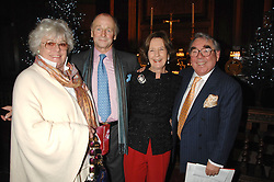 Left to right, ANNE CORBETT, MR & MRS SIMON PARKER BOWLES and RONNIE CORBETT at a carol concer 'Carols From Chelsea - A Celebration of Christmas' held at the Royal Hospital Chapel, Chelsea in aid of The Institute of Cancer Research on 4th December 2007.<br /><br />NON EXCLUSIVE - WORLD RIGHTS