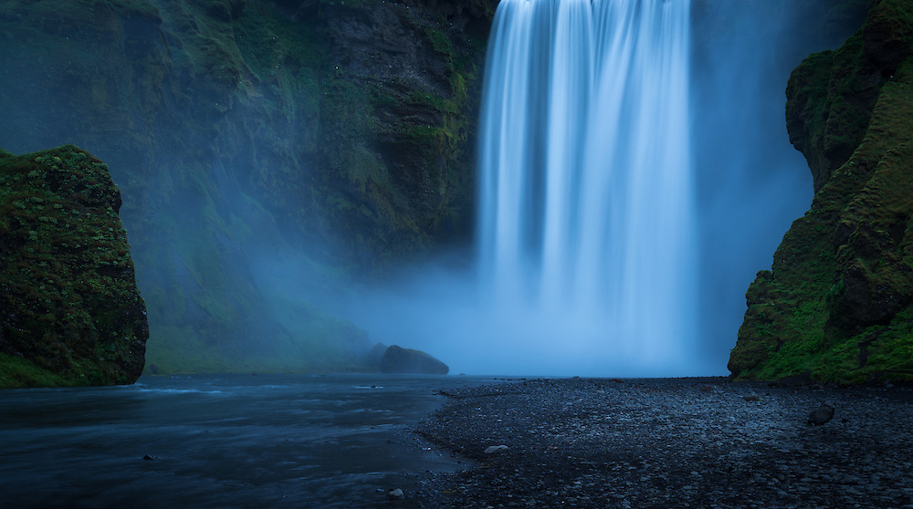 Skogafoss, south coast Iceland