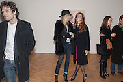 BARRY REIGATE; KIM HERSOV; HEATHER KERZNER, Panta Rhei. An exhibition of work by Keith Tyson. The Pace Gallery. Burlington Gdns. 6 February 2013.