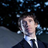 Rory Stewart, British academic, author and Conservative politician, at the Edinburgh International Book Festival 2015.<br /> Edinburgh. 30th August 2015<br /> <br /> Photograph by Gary Doak/Writer Pictures<br /> <br /> WORLD RIGHTS