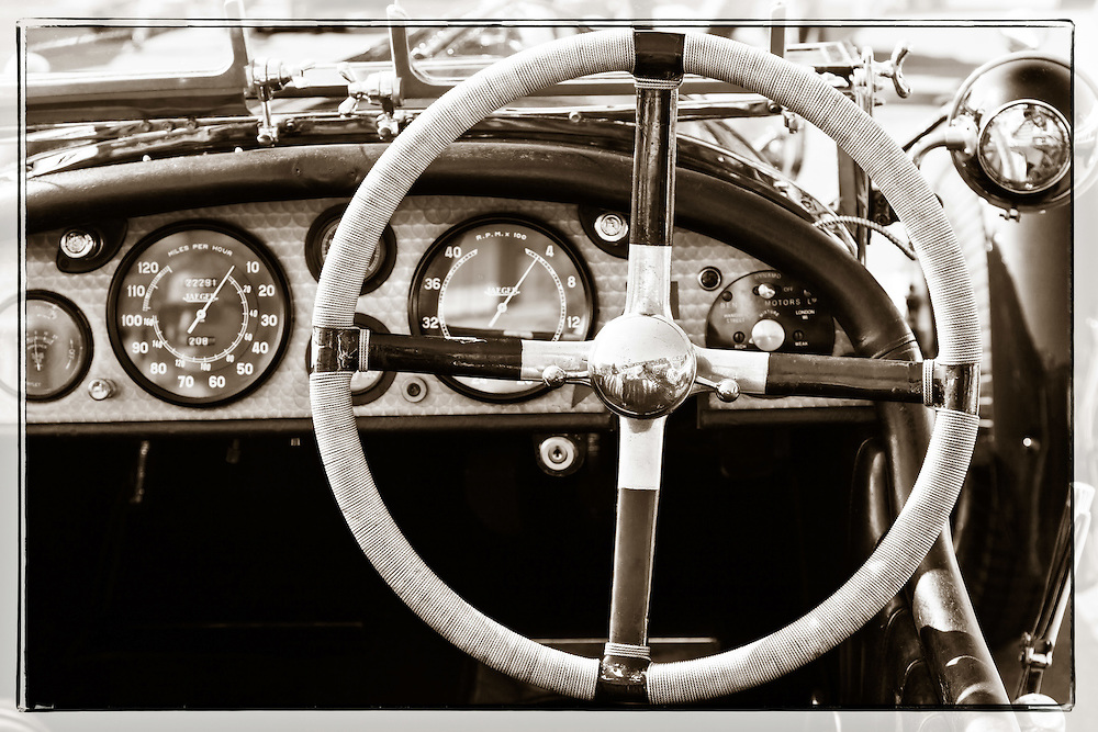 Oltimer Triumph  steering wheel