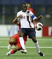 Fotball<br /> VM U20 - Canada<br /> 30.06.2007<br /> Foto: imago/Digitalsport<br /> NORWAY ONLY<br /> <br /> Freddy Adu (USA U20, vorn) im Zweikampf