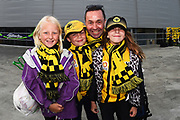 Fans during their Hyundai A League match. Wellington Phoenix v Melbourne City FC. Westpac Stadium, Wellington, New Zealand. Saturday 26 January 2019. ©Copyright Photo: Chris Symes / www.photosport.nz