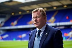 LONDON, ENGLAND - Sunday, March 5, 2017: Everton's manager Ronald Koeman before the FA Premier League match against Tottenham Hotspur at White Hart Lane. (Pic by David Rawcliffe/Propaganda)