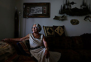 Ruth Sprague, shown at her home in Sun City, remembers the 4th of July as the day she became a U.S. citizen in 1962. Sprague was born in Germany and was forced to join the Hitler Youth during WWII. Saturday, July 4, 2015 (Nick Cote/Daily News-Sun)
