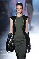 Zuzanna Stankiewicz walks down runway for F2012 Jason Wu's collection in Mercedes Benz fashion week in New York on Feb 10, 2012 NYC