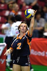 21-06-2000 JAP: OKT Volleybal 2000, Tokyo<br /> Nederland - Croatie 2-3 / Jettie Fokkens