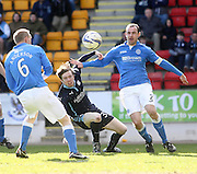 Dundee's Craig Wighton and St Johnstone's David Mackay - St Johnstone v Dundee, SPFL Premiership at McDiarmid Park<br /> <br />  - &copy; David Young - www.davidyoungphoto.co.uk - email: davidyoungphoto@gmail.com