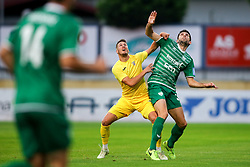 during football match between NK Domzale and NK Krsko in 1st Round of Prva liga Telekom Slovenije 2018/19, on July 22, 2018 in Sports park, Domzale, Slovenia. Photo by Matic Klansek Velej / Sportida