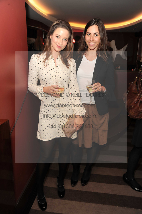 A party to promote the exclusive Puntacana Resort &amp; Club - the Caribbean's Premier Golf &amp; Beach Resort Destination, was held at The Groucho Club, 45 Dean Street London on 12th May 2010.<br /> <br /> Picture shows:-Left to right, KELLY EASTWOOD and BEATRICE SAVORETTI