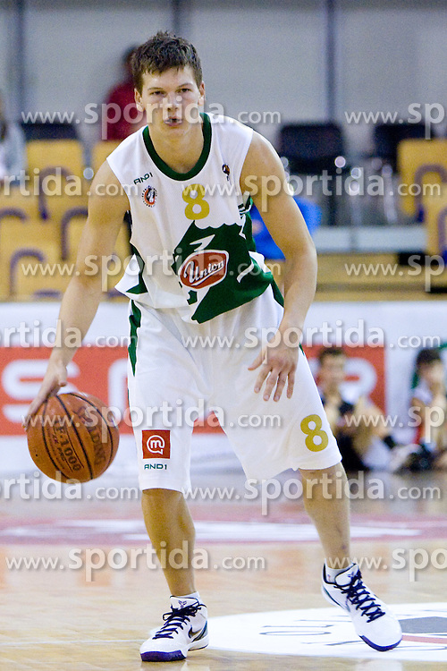 Jaka Klobucar of Olimpija at Superpokal basketball match between KK Union Olimpija and Elektra Esotech, on September 27, 2009, in Arena Tivoli, Ljubljana, Slovenia. Olimpija won 95:62.  (Photo by Vid Ponikvar / Sportida)