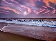 Kaleidoscope sky. Charlestown and Misquamecut, Rhode Island.
