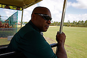 Monday, July 8, 2013 REGGIE WILLIAMS : Former Cincinnati Bengals player and Cincinnati City Councilman Reggie Williams goes back to his old stomping grounds at the ESPN Wide World of Sports Complex on the Walt Disney property. He helped build the complex from the ground up and was one of Disney's first African American executives.  The Enquirer/Jeff Swinger